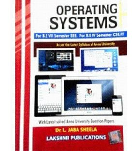 Operating Systems | Dr.L. Jabasheela