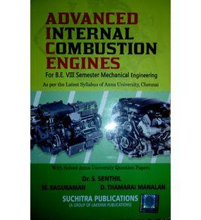 Advanced I C Engines   Dr. S Senthil, M. Raguraman, D Tamarai Manalan