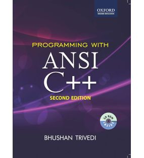 Programming with ANSI C++ | Bhushan Trivedi | 2nd Edition