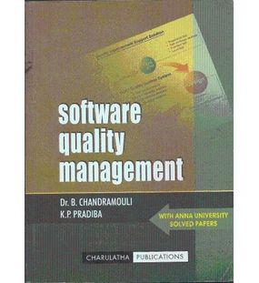 Software Quality Management | B.Chandramouli,K.P.Pradiba