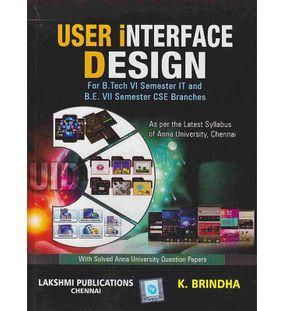 User Interface Design | Brindha