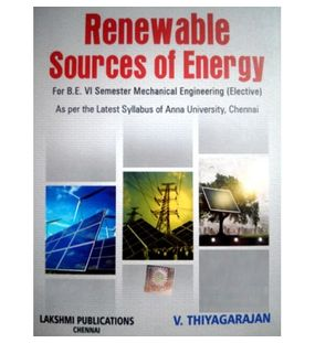 Renewable Sources of Energy | Thiyagarajan