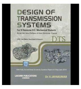 Design Of Transmission Systems | Dr.V.Jayakumar