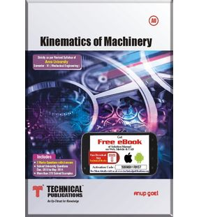 Kinematics Of Machinery   Anup Goel