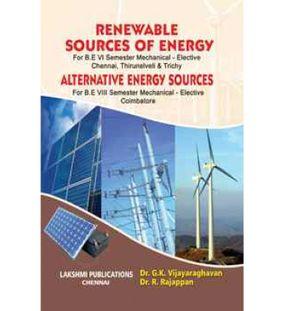 Renewable Sources Of Energy | Dr.G.K.Vijayaraghavan