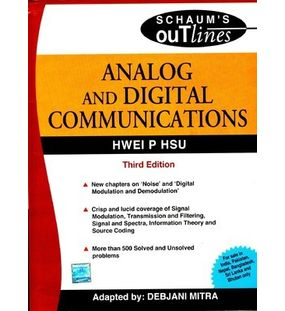 Analog and Digital Communications   Hwei P Hsu