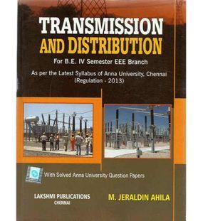 Transmission and Distribution | Jeraldin Ahila