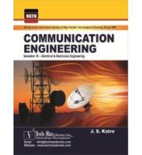 Communication Engineering   Katre J S