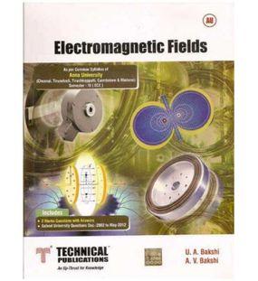 Electromagnetic Fields | U.A.Bakshi, A.V.Bakshi