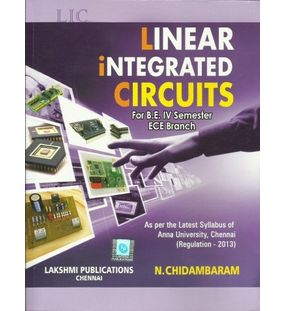 Linear Integrated Circuits   Chidambaram