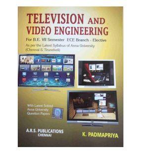 Television And Video Engineering   K Padmapriya