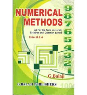 Numerical Methods | G.Balaji