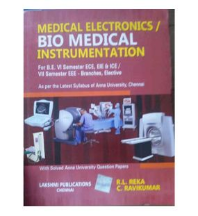 Biomedical Instrumentation (Medical Electronics) | R.L.Reka, C.Ravikumar