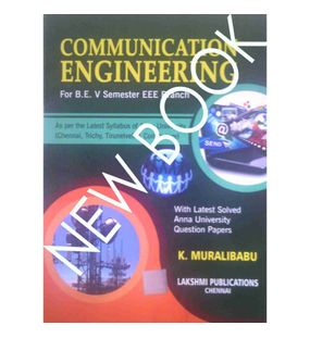 Communication Engineering | K. Muralibabu