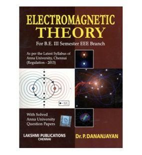 Electro Magnetic Theory | Dr.P.Danajayan