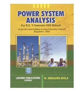 Power System Analysis | M.Jeraldin Ahila