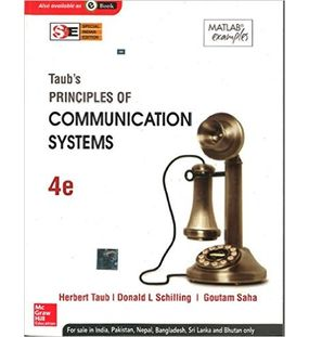 Taub's Principles of Communication Systems |  Herbut Taub, Donald L. Schilling , Goutam Saha