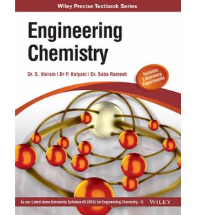 Engineering Chemistry, (As per latest syllabus Engineering Chemistry II of Anna University) | Dr. S. Vairam, Dr. P. Kalyani, Dr. Suba Ramesh