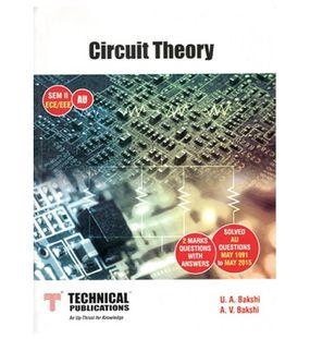 Circuit Theory   U A Bakshi, A V Bakshi