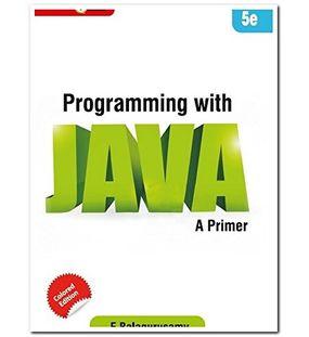 Programming with Java | E Balagurusamy