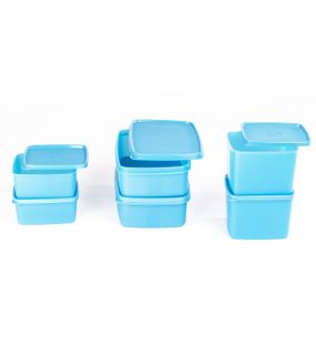 SIGNORAWARE6 PC. SMART FRIDGE SET-BLUE