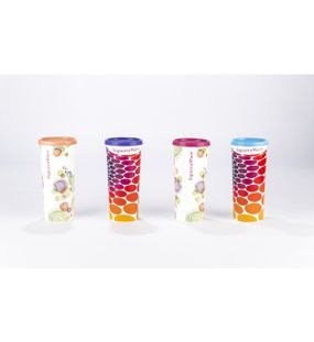 SIGNORAWARE 4 PC. SET ASSORTED TUMBLERS