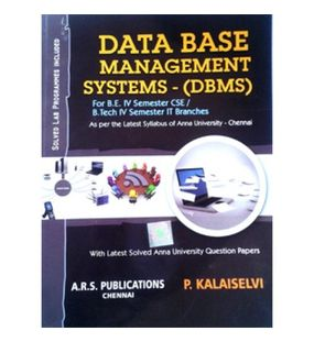 Database Management Systems | Kalaiselvi