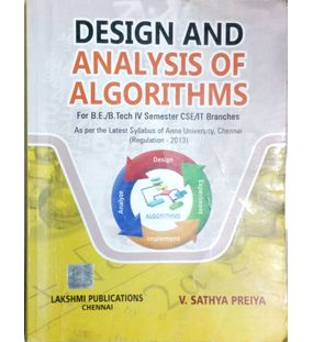 Design And Analysis Of Algorithms | V. Sathya Preiya