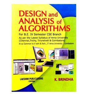 Design and Analysis of Algorithms | Brindha