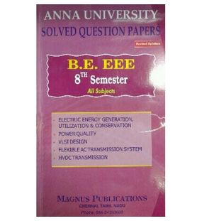 Anna University Solved Question Papers - EEE 8th Sem