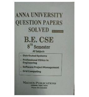 Anna University Solved Question Papers - CSE 8th Sem