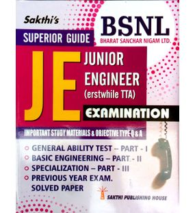 Junior Engineer (JE - TTA) Examination Study Materials & Objective Type Q & A ( BSNL JE )