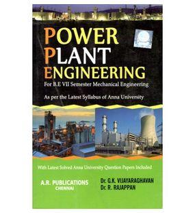 Power Plant Engineering | Dr.G.K.Vijayaraghavan and Dr.R.Rajappan | Mechanical