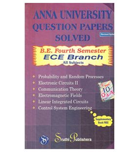 Anna University Solved Question Papers - ECE- 4th Sem