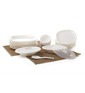 DINNER SET 23 PCS. (SQUARE)  || SIGNORAWARE - DINNER SET RANGE