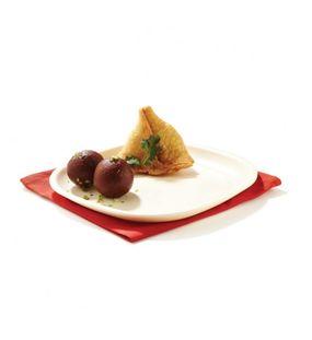 HALF PLATE SQUARE (SET/6)  || SIGNORAWARE - SERVING TABLEWARE