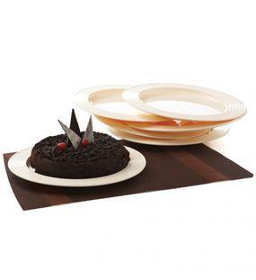 CAKE PLATE (SET/6)  || SIGNORAWARE - SERVING TABLEWARE