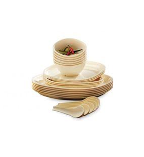 DINNER SET 24 PCS. (SQUARE)  || SIGNORAWARE - DINNER SET RANGE