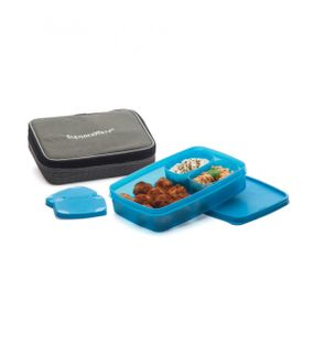 COMPACT LUNCH BOX WITH BAG  || SIGNORAWARE LUNCH BOX