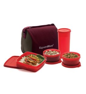 BEST LUNCH JUMBO WITH BAG  || SIGNORAWARE LUNCH BOX