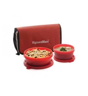 KIT LUNCH WITH BAG  || SIGNORAWARE LUNCH BOX