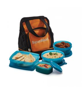 CARRY LUNCH BOX WITH BAG  || SIGNORAWARE LUNCH BOX