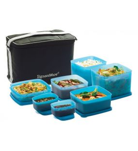 PICNIC LUNCH BOX WITH BAG  || SIGNORAWARE
