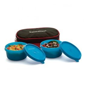 MID-DAY LUNCH BOX WITH BAG   || SIGNORAWARE LUNCH BOX