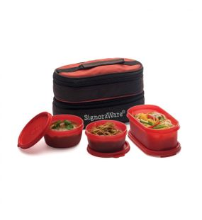 HEALTHY LUNCH BOX (WITH BAG)  || SIGNORAWARE LUNCH BOX