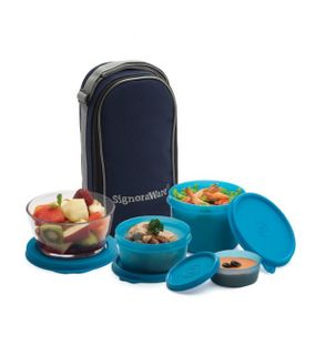 CELEBRITY LUNCH BOX WITH BAG  || SIGNORAWARE