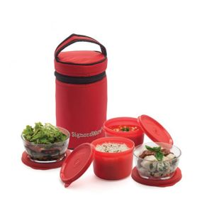 SIGNATURE LUNCH BOX WITH BAG  || SIGNORAWARE