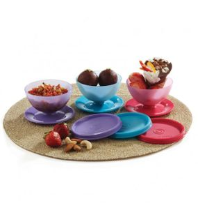 DESSERT SERVER (SET/4)  || SIGNORAWARE - SERVING TABLEWARE