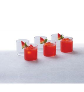 CRYSTAL CLEAR GLASS SMALL (SET/6)  || SIGNORAWARE