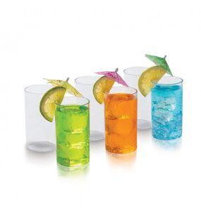 CRYSTAL CLEAR GLASS BIG (SET/6)  || SIGNORAWARE